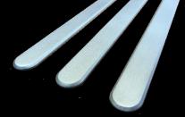 Cedo  lames podotactiles en aluminium microbillé  laiton poli