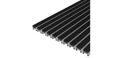 Ciko C  tapis à profilés aluminium + bandes en caoutchouc