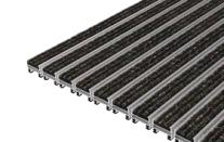 ciko R  tapis à profilés aluminium + bandes reps