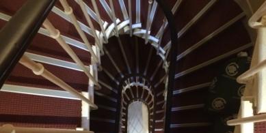 Nez de Marches d'escalier aluminium hôtel