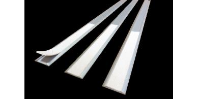Linso AL  profilés podotactiles en aluminium + antidérapant coloré