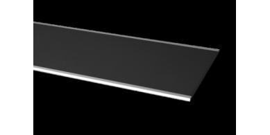 Volea  profilés signalétiques en aluminium microbillé